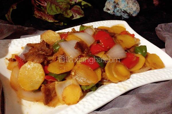 洋葱土豆片