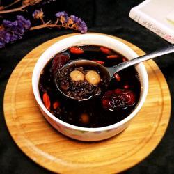 紫米红枣圆子