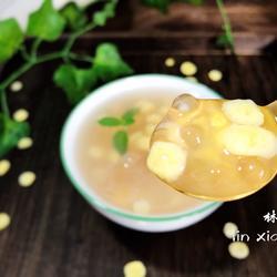 玉米片西米露