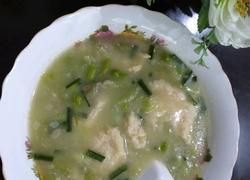 丝瓜疙瘩汤