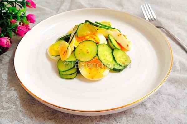 黄瓜鸡蛋沙拉