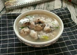 鲜味海蛎粥