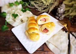 牛肉肠面包卷