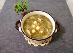 百合绿豆莲子汤
