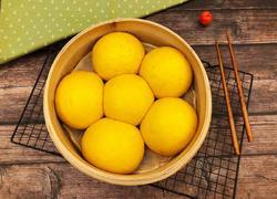 南瓜馒头(一次发酵)