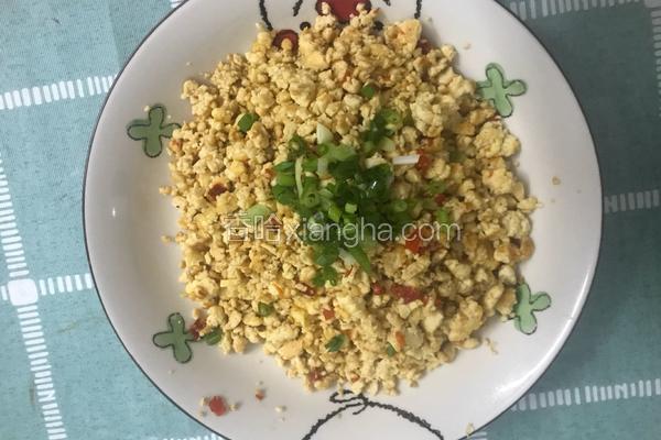鸡刨豆腐(鸡蛋炒老豆腐)