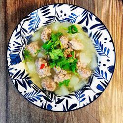 冬瓜肉丸汤的做法[图]