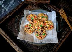 无油无糖无面粉的燕麦饼干