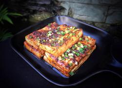 香辣烤豆腐