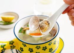 鲜美减脂的冬瓜花蛤汤
