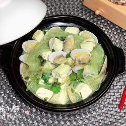 花蛤裙带菜粉丝煲