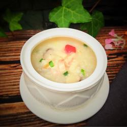 鱿鱼海鲜粥