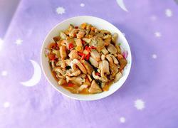 海鱼炒秀珍菇