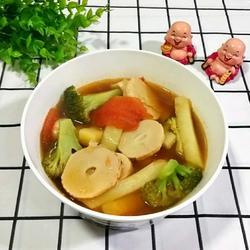 土豆咸笋汤