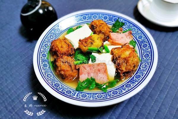 萝卜丸子豆腐汤