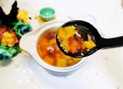 桃胶南瓜糯米汤