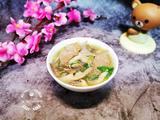 蘑菇肉片汤的做法[图]