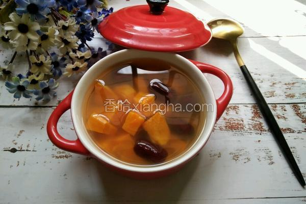 红薯红枣甜汤