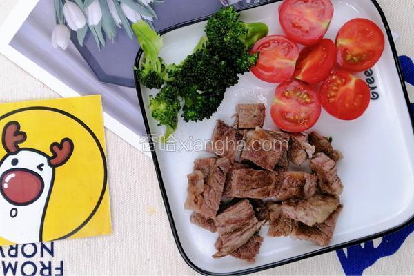 宝宝生鲜辅食,营养低脂,香煎牛排【小鹿优鲜】