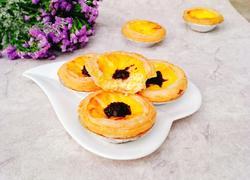 蓝莓酱蛋挞