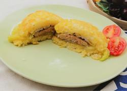 鹅肝米饭汉堡。健康低热量,源自北欧,纯净生鲜【小鹿优鲜】