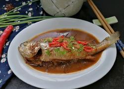 酱焖黄花鱼