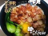 腊肠腊肉煲仔饭的做法[图]