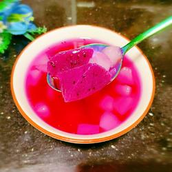 火龙果甜汤的做法[图]