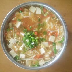西红柿酸辣汤的做法[图]