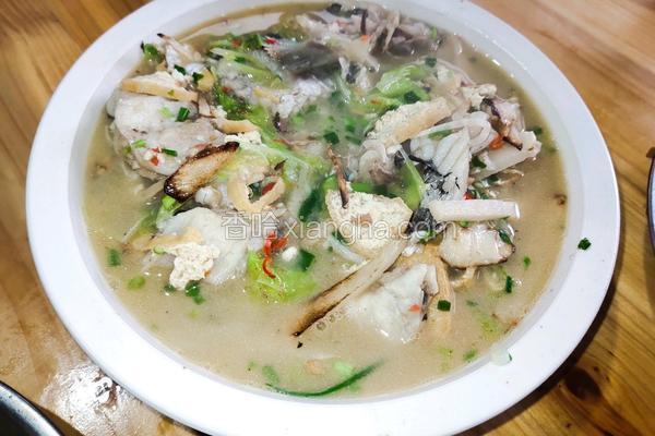 酸辣草鱼汤