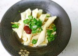 超级鲜美的鸡汤豆腐串 最后连烧烤和鸡汤都有了
