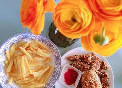 宅家必备下午茶~炸鸡翅薯条