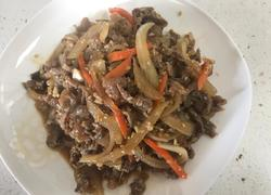 韩式炒牛肉