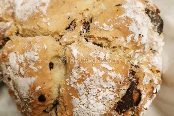 不用发酵不用揉快速快捷家庭巧克力面包