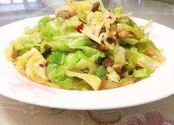 包心菜炒肉
