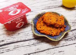 红薯藜麦芝麻饼