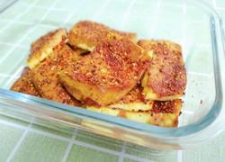外酥里嫩的香辣烤豆腐