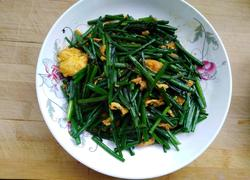 鸡蛋韭菜苔