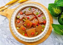 红烧魔芋豆腐