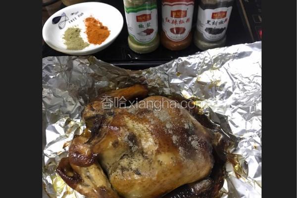 烤全鸡烤鸡