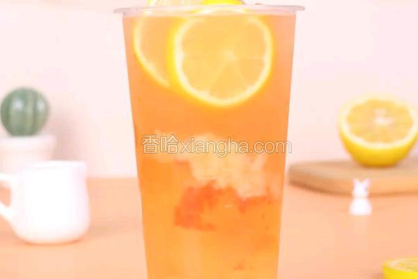 蜜桃柠檬绿茶