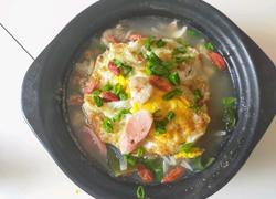 煎蛋萝卜汤