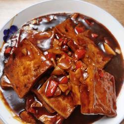 糖醋煎豆腐