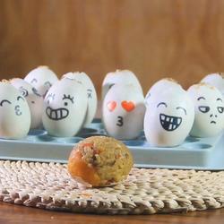 卡通糯米蛋的做法[圖]