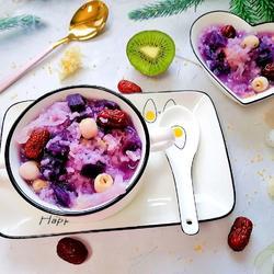紫薯銀耳粥的做法[圖]