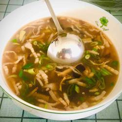 酸辣肉丝汤的做法[图]