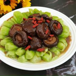 香菇上海青的做法[圖]