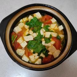 番茄豆腐汤的做法[图]