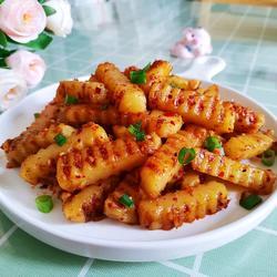 香辣孜然土豆條的做法[圖]