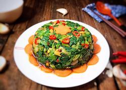 凉拌苦麻菜